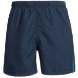 Maui Waves Solid Swim Trunks (For Men)