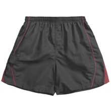 Maui Waves Swim Trunks - Built-In Brief (For Men) in Black - Closeouts