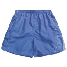Maui Waves Swim Trunks - Built-In Brief (For Men) in Blue - Closeouts