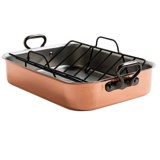 Mauviel 1830 M'Heritage Tri-Ply Copper Roasting Pan