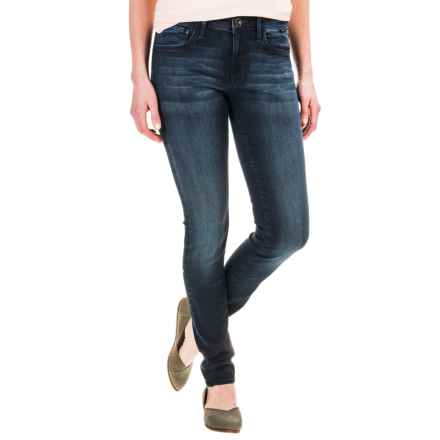 Mavi Adriana Gold Collection Super Skinny Ankle Jeans (For Women) in Overnight Wash - Closeouts