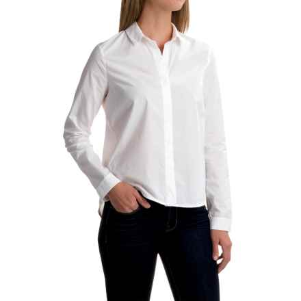 Mavi Classic Button-Down Shirt - Long Sleeve (For Women) in White - Closeouts