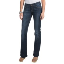 Mavi Denim Zoe Bootcut Jeans - Low Rise, Distressed (For Women) in Dark Bristol - Closeouts