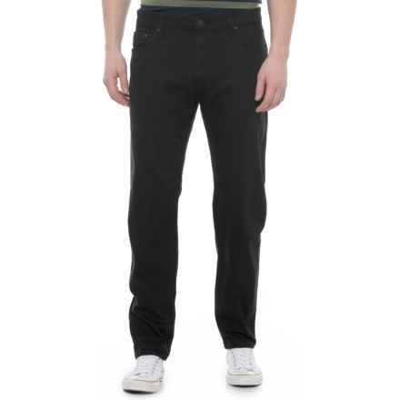 Mavi Jake Williamsburg Jeans - Slim Cut (For Men) in Black Williamsburg - Overstock