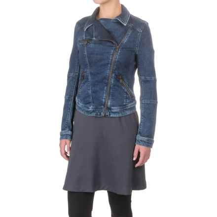 Mavi Janet Jean Jacket (For Women) in Dark Vintage Sporty - Closeouts