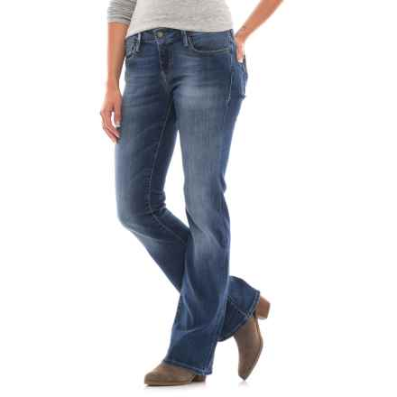 Mavi Jeans Ashley Jeans - Bootcut (For Women) in Mid Tribeca - Closeouts