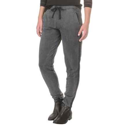 Mavi Jeans Drawstring Sweatpants (For Women) in Black - Closeouts