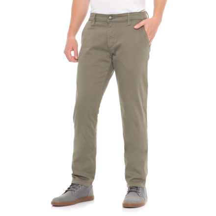 Mavi Johnny Dusty Olive Twill Pants (For Men) in Dusty Olive Twill - Overstock