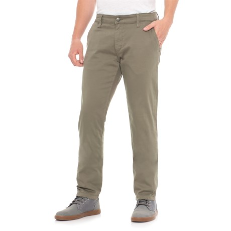 Mavi Johnny Dusty Olive Twill Pants (For Men) in Dusty Olive Twill