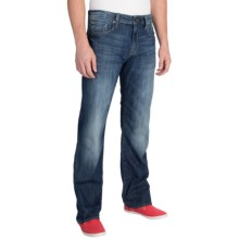Mavi Josh Mid Used Railtown Jeans - Bootcut (For Men) in Mid Used Railtown - Closeouts