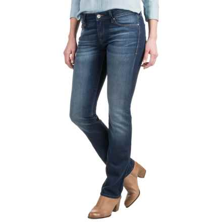 Mavi Kerry Indigo Cigarette Leg Jeans - Stretch Cotton Blend, Mid Rise (For Women) in Indigo Nolta - Closeouts