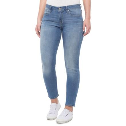 5bfe5c53777f42 Mavi Light Brushed Shanti Alexa Skinny Jeans (For Women) in Light Brushed  Shanti -