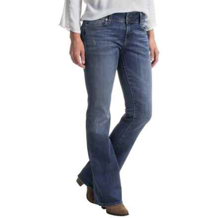 Mavi Malin Flap-Pocket Bootcut Jeans - Mid Rise (For Women) in Mid Used Vintage - Closeouts