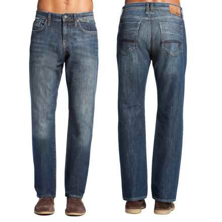 Mavi Matt Relaxed Denim Jeans - Cotton Blend, Straight Leg (For Men) in Deep Cooper - Closeouts