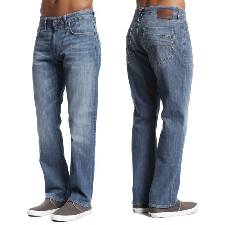Mavi Matt Relaxed Denim Jeans - Cotton Blend, Straight Leg
