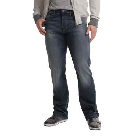Mavi Matt Williamsburg Jeans - Straight Leg (For Men) in Deep Used - Closeouts