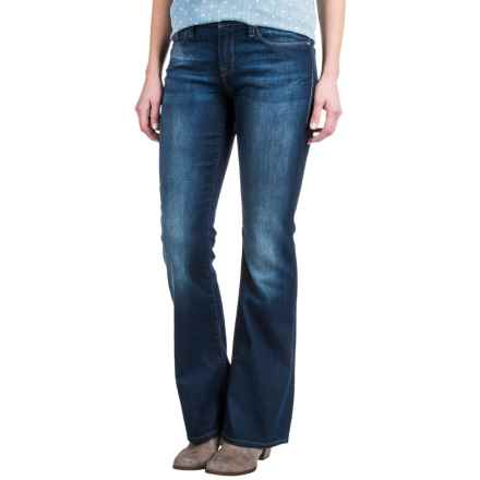 Mavi Molly Classic Bootcut Jeans - Stretch Cotton Blend, Mid Rise (For Women) in Indigo Nolita - Closeouts