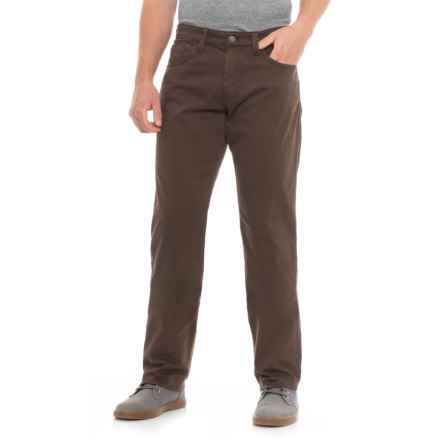 Mavi Myles Coffee Bean Twill Pants - Straight Leg (For Men) in Coffe Bean Twill - Overstock
