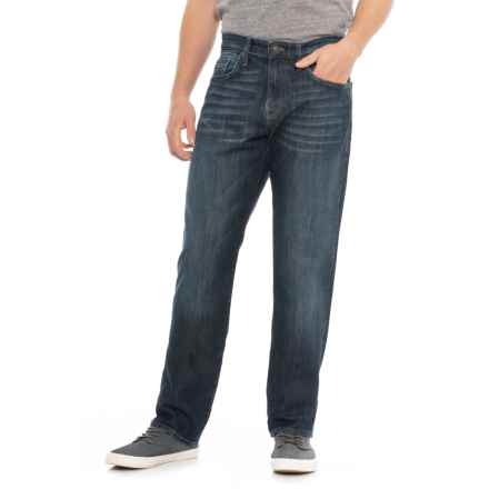 Mavi Myles Deep Brushed Jeans (For Men) in Deep Brushed Stanford - Overstock