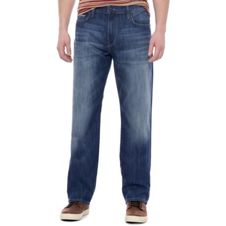 Mavi Myles Jeans - Straight Leg (For Men) in Mid Yaletown