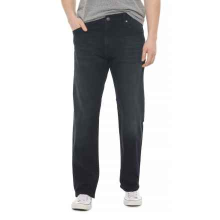 Mavi Myles Williamsburg Jeans - Straight Leg (For Men) in Ink Brushed Williamsburg - Overstock