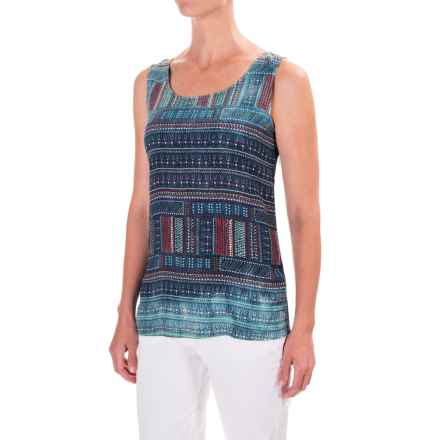 Mavi Scoop Neck Tank Top (For Women) in Reef Waters - Closeouts