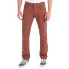 Mavi Zach Colored Jeans - Low Rise, Straight Leg (For Men) in Brick - Closeouts