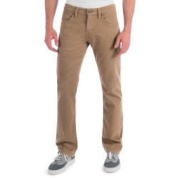 Mavi Zach Colored Jeans - Low Rise, Straight Leg (For Men) in Brick