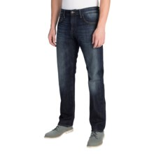 Mavi Zach Jeans - Straight Leg (For Men) in Rinse Used Italy - Closeouts