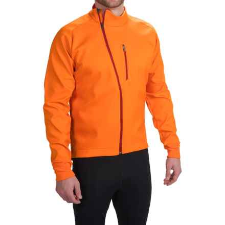 Mavic Aksium Thermo Cycling Jacket (For Men) in Clementine - Closeouts