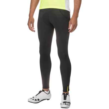 Mavic Aksium Thermo Cycling Tights (For Men) in Black - Closeouts