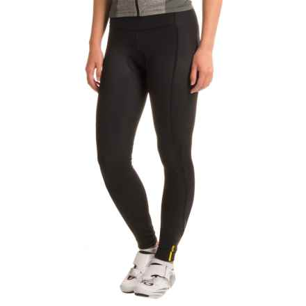 Mavic Aksium Thermo Cycling Tights (For Women) in Black - Closeouts