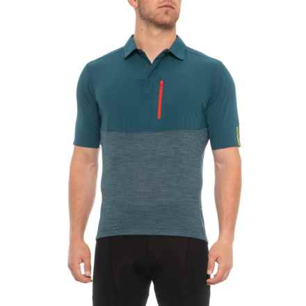 a56e9e16406 Mavic Allroad Jersey - Merino Wool Blend, Short Sleeve (For Men) in Majolica