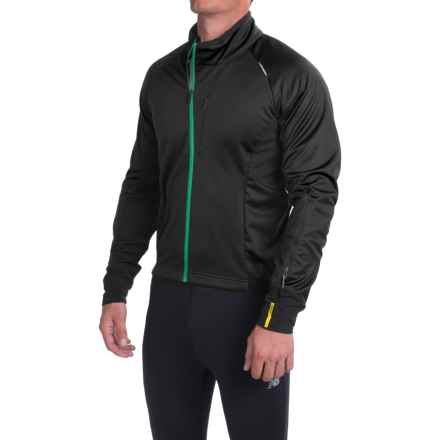 Mavic Cosmic Elite Thermo Cycling Jacket (For Men) in Black - Closeouts