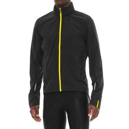 Mavic Crossmax Pro H20 Cycling Jacket - Waterproof (For Men) in Black - Closeouts