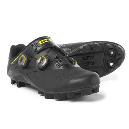 Mavic Crossmax Pro Mountain Bike Shoes - SPD (For Men) in Black/Yellow Mavic/Black - Closeouts