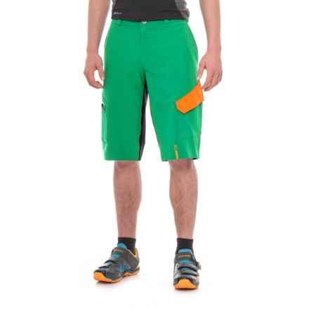Mavic Crossmax Pro Mountain Bike Shorts (For Men) in Deep Mint - Closeouts