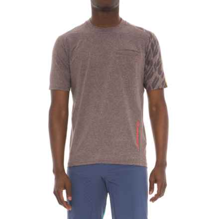 Mavic Crossride Cycling Shirt - Short Sleeve (For Men) in After Dark - Closeouts