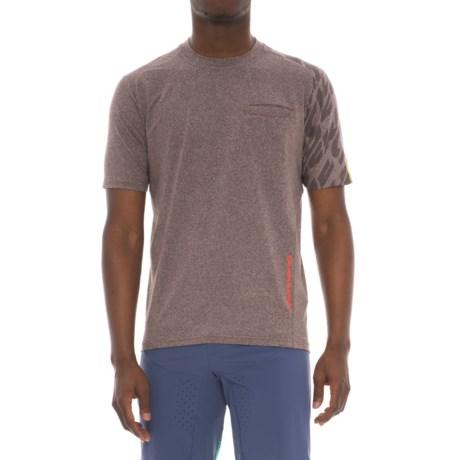 Mavic Crossride Cycling Shirt - Short Sleeve (For Men) in After Dark