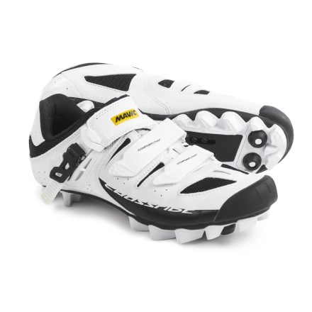2e49c1a646d Mavic Crossride SL Elite Mountain Bike Shoes - SPD (For Women) in White