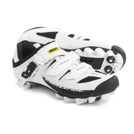 Mavic Crossride SL Elite Mountain Biking Shoes - SPD (For Women) in White/Black/White - Closeouts