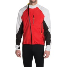 Mavic HC H2O Cycling Jacket - Waterproof (For Men) in Bright Red/White - Closeouts