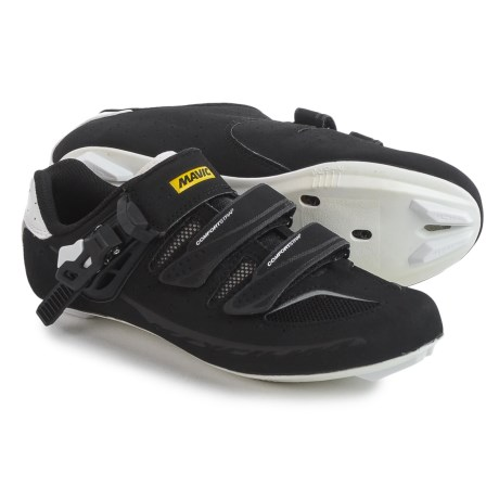 Mavic Ksyrium Elite II Road Cycling Shoes - 3-Hole (For Women) in Black/White/White