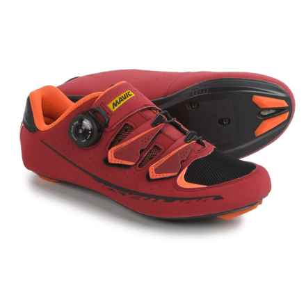 Mavic Ksyrium Pro II Road Cycling Shoes - 3-Hole (For Men) in Red/Black/Orange - Closeouts
