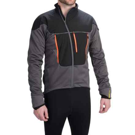 Mavic Ksyrium Pro Thermo Cycling Jacket - 3-in-1, Insulated (For Men) in Autobahn/Black - Closeouts