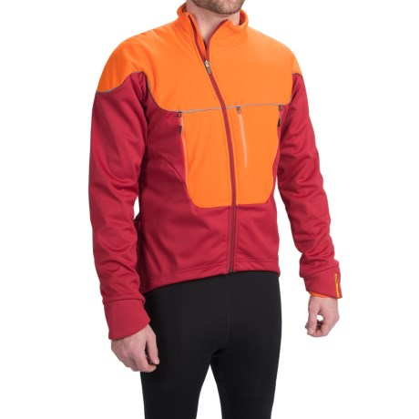 Mavic Ksyrium Pro Thermo Cycling Jacket - 3-in-1, Insulated (For Men) in Victory Red/Clementine