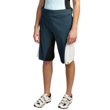 Mavic Meadow Mountain Bike Short Set (For Women) in Pond/White - Closeouts