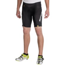 Mavic Sprint Cycling Shorts (For Men) in Black/White - Closeouts