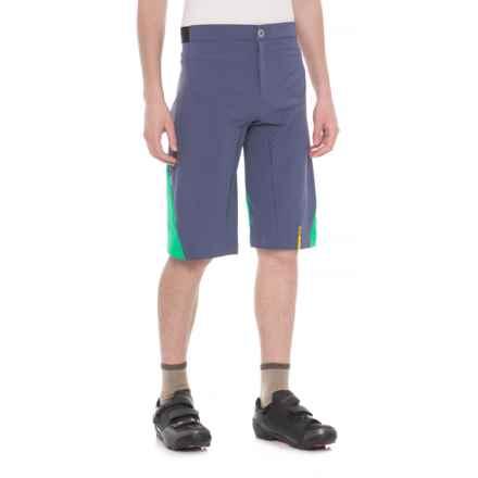Mavic XA Pro MTB Shorts (For Men) in Crown Blue/Deep Mint - Closeouts