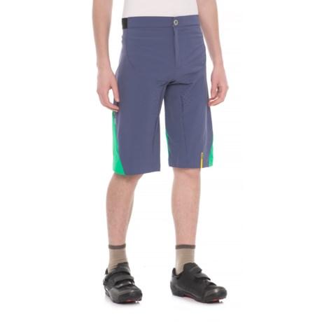 Mavic XA Pro MTB Shorts (For Men) in Crown Blue/Deep Mint